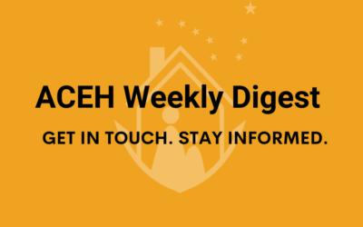 ACEH Weekly Digest: 9/15/2021